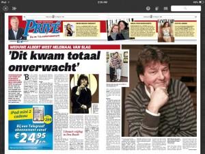 Telegraaf - 05-06-2015 - Albert West