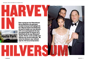 Harvey in Hilversum Cover